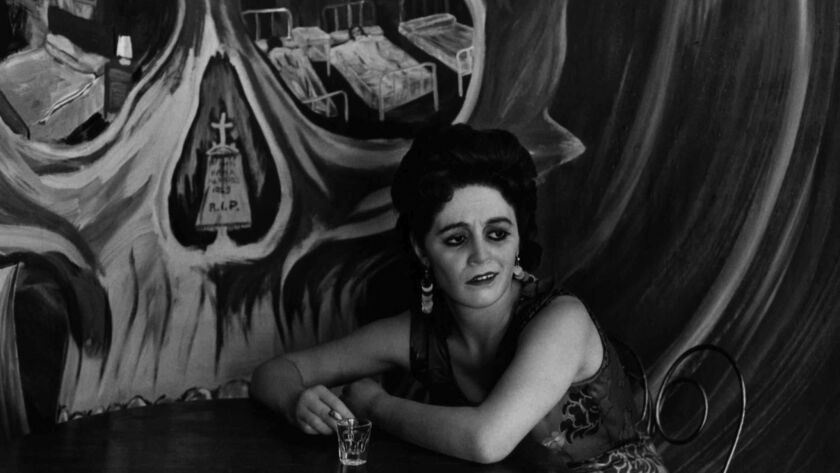 """A detail from """"Mexico City,"""" 1969, by Graciela Iturbide."""