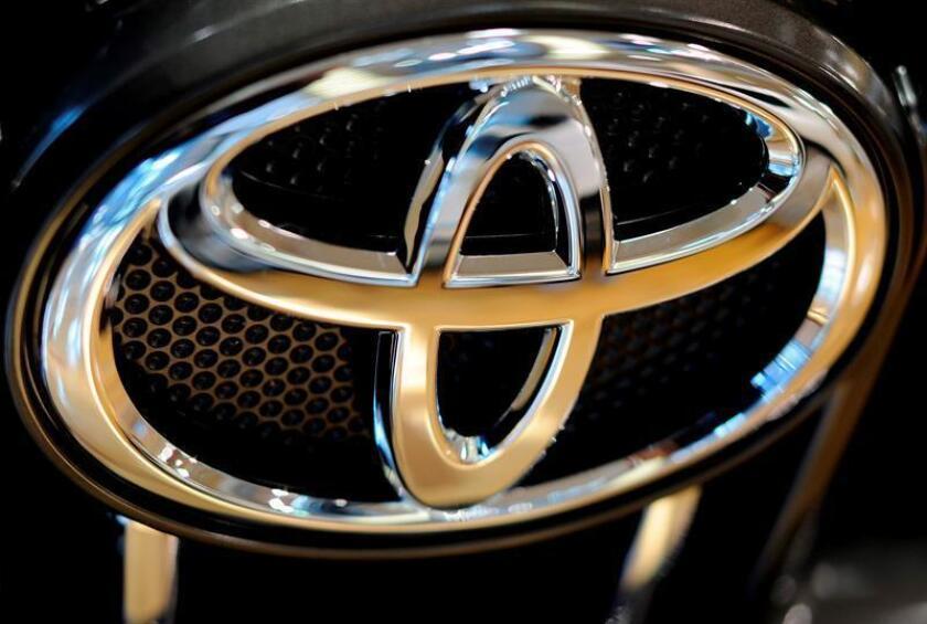 Imagen que muestra el logo de Toyota. EFE/Archivo