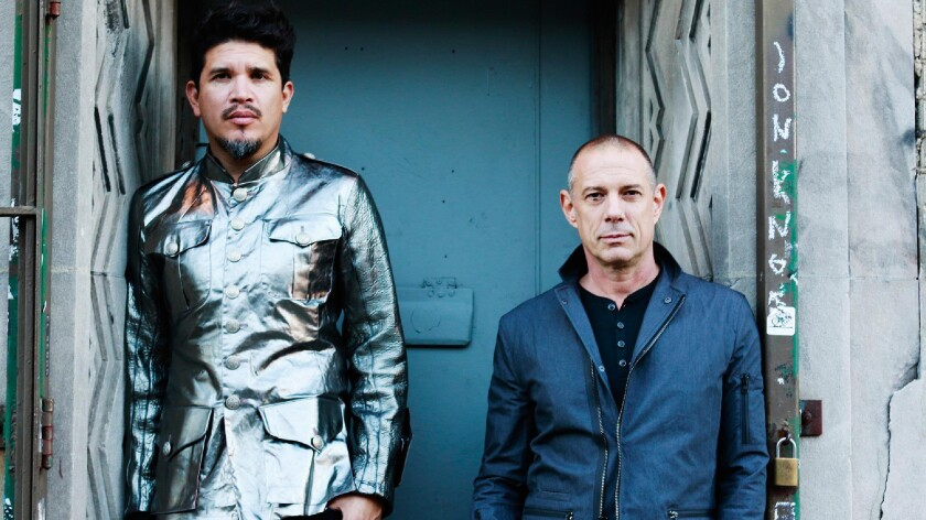 A photo of Thievery Corporation