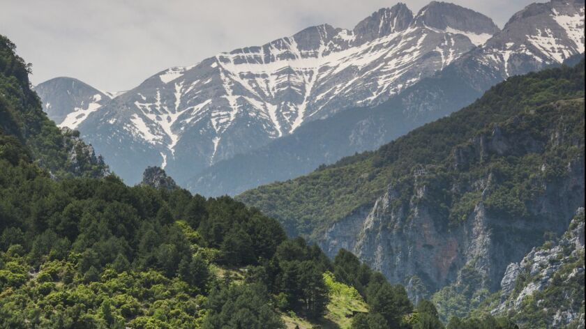Greece's Mt. Olympus inspired an adolescent daughter to propose a family hike.