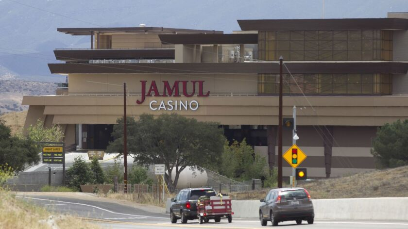 The former Hollywood Casino in Jamul has been rebranded as Jamul Casino after a split over financial losses between the developer/operator and the tribe.