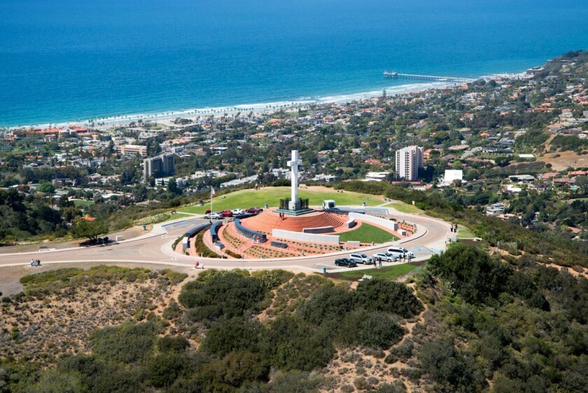 Mount Soledad in La Jolla. Courtesy