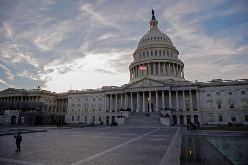 Fotografía del capitolio de los Estados Unidos. EFE/Archivo
