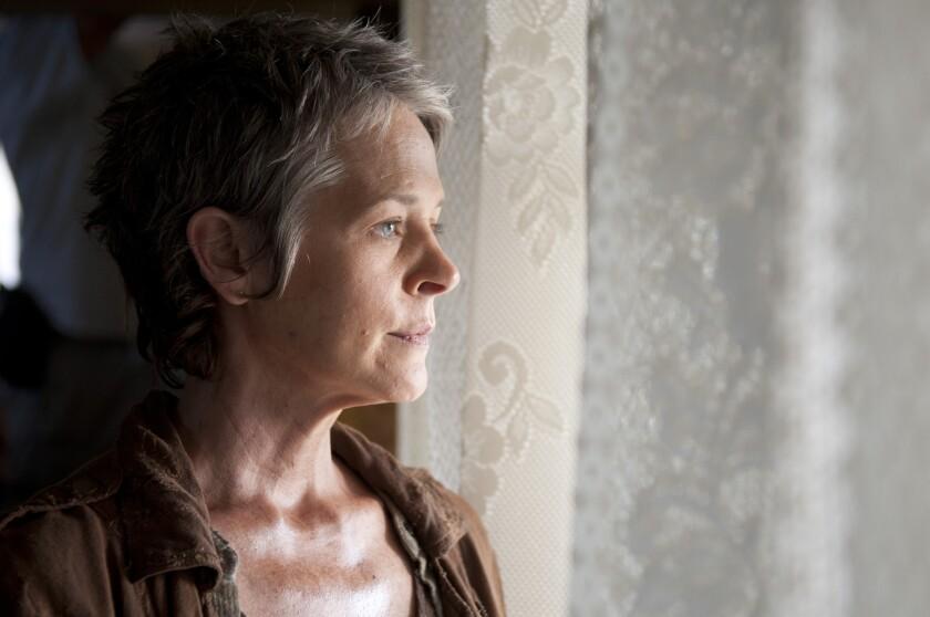 """Melissa Suzanne McBride plays Carol in """"The Walking Dead."""""""