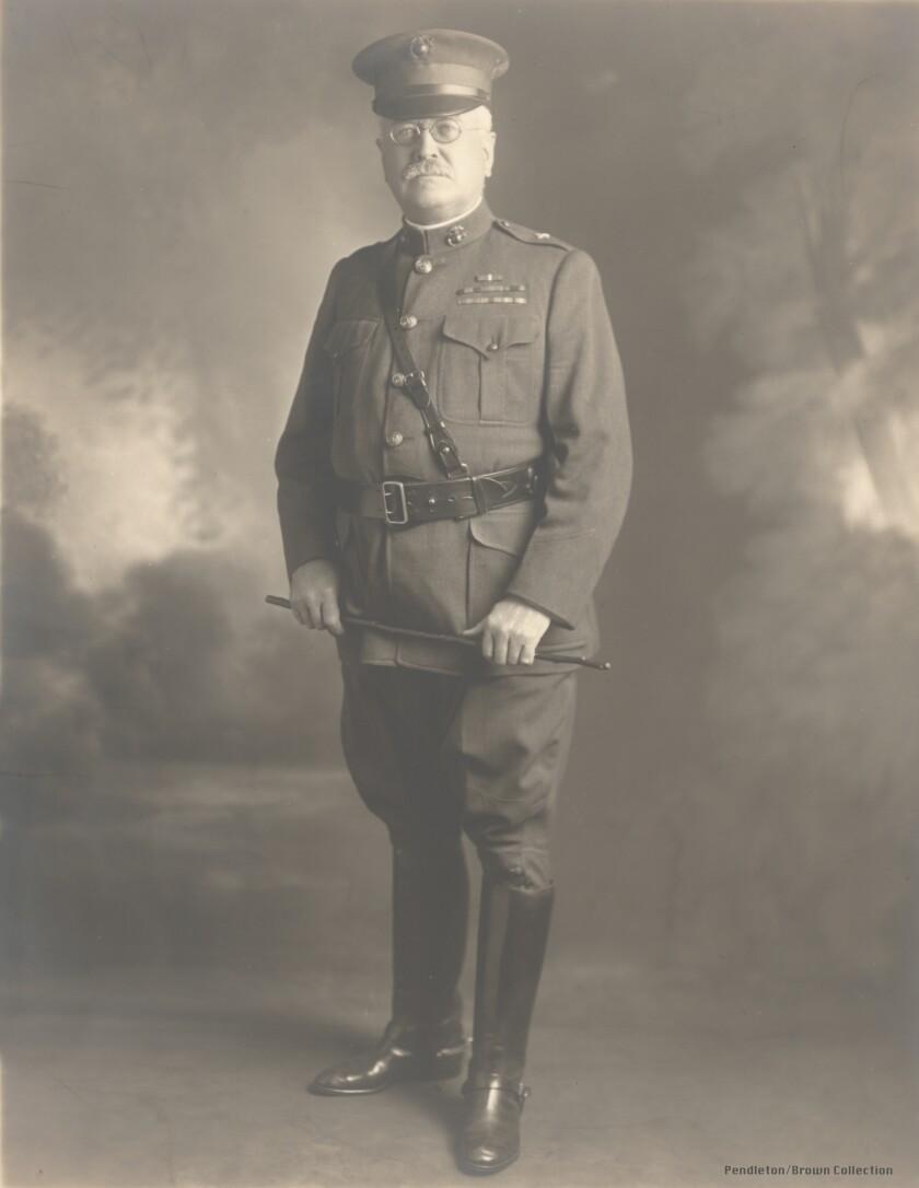 Col. Joseph Pendleton, circa 1915–16 (before he became major general).
