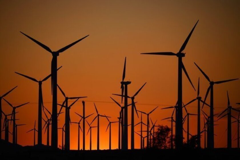 Blowin' in the wind: California jumps to 2nd in U.S. in wind power