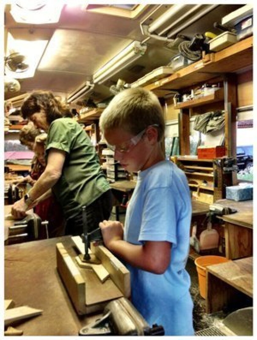 Woodworking classes are now available at the Rancho Santa Fe Community Center.