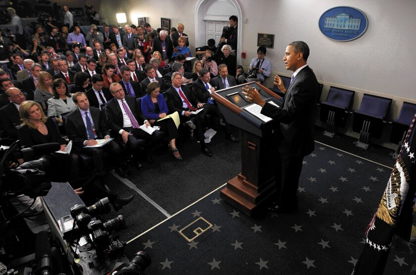 Obama hints at changes in NSA collection of phone data