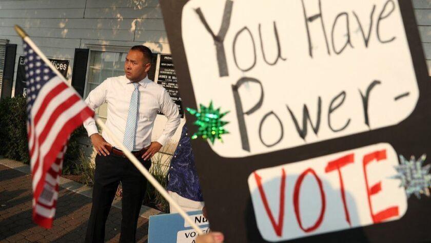 BESTPIX California House Candidate Andrew Janz Running As Challenger To Rep. Devin Nunes