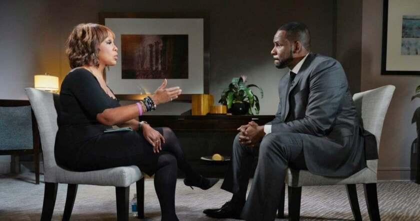 R Kelly se altera fuertemente en una entrevista con CBS
