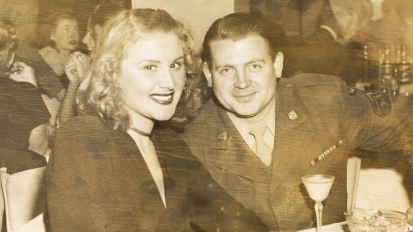 "(R-L) - Rose Marie and Bobby in a still photograph from the movie ""Wait for Your Laugh."" Credit: Vit"
