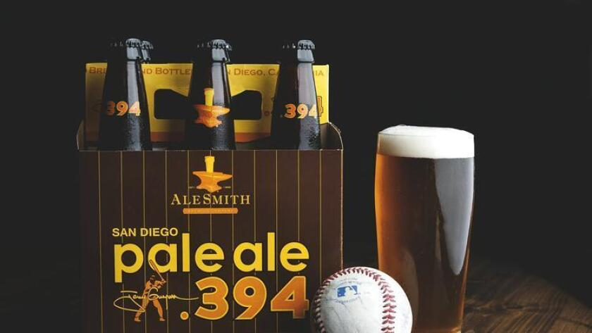 AleSmith Pale Ale .394, a tribute beer to Tony Gwynn.