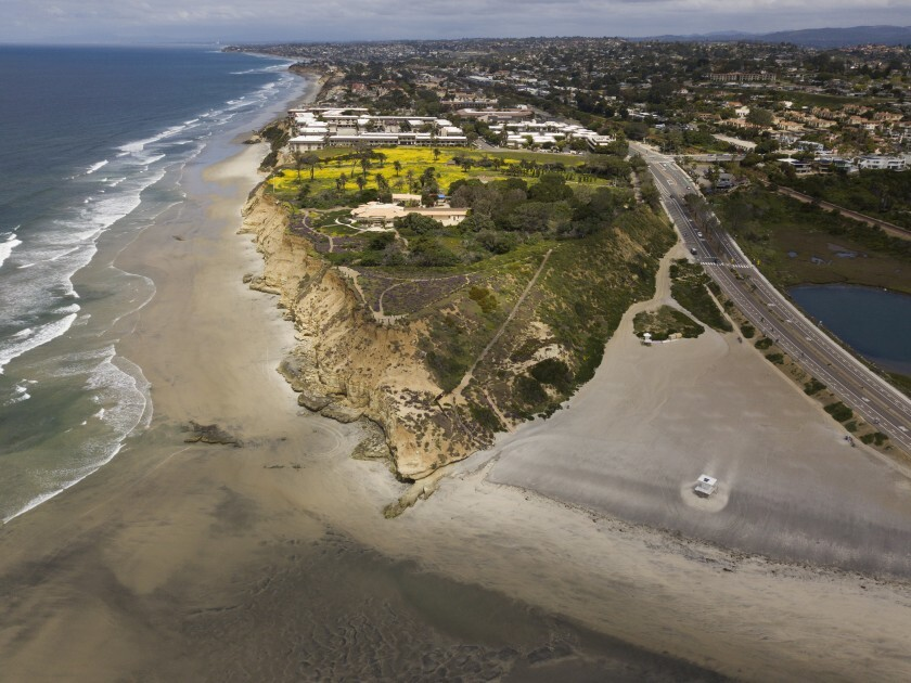 Del Mar voters defeated the Marisol initiative in March that would have allowed a 17-acre resort to be built on this bluff near the city's border with Solana Beach.