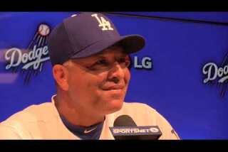 Watch Dave Roberts discuss the Dodgers' home opening loss to Diamondbacks
