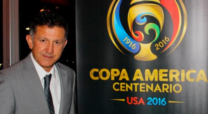 Juan Carlos Osorio, entrenador de México.