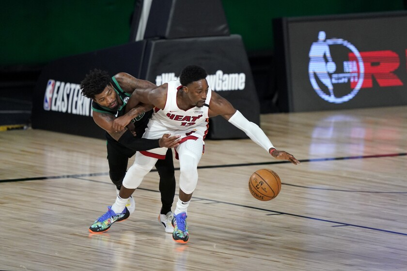 Boston Celtics' Marcus Smart (36)