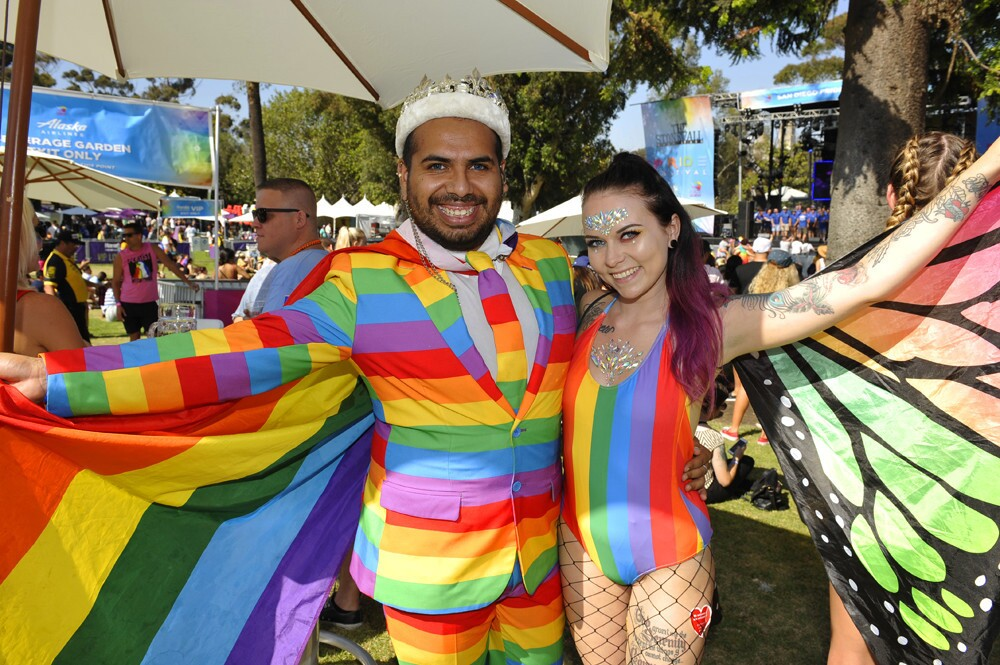 Love, equality and all the colors of the rainbow were celebrated at the San Diego Pride parade and festival on Saturday, July 14, 2018.