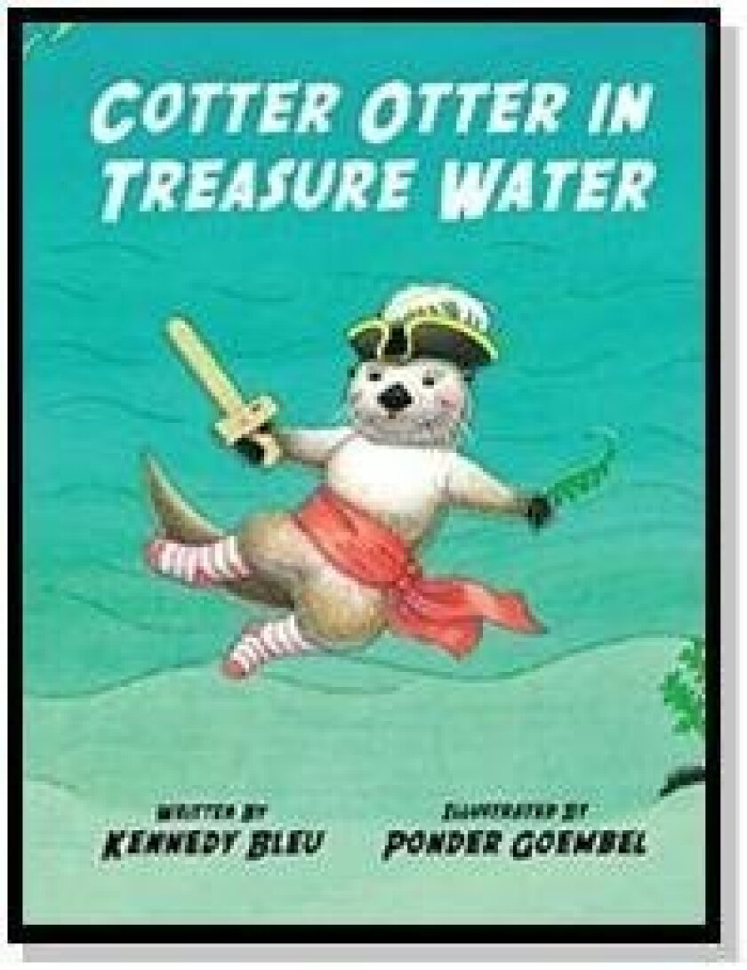 Kennedy Bleu reads from 'Cotter Otter' at 10 a.m. Feb. 28 at the Del Mar Library.