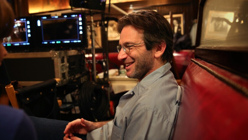 NEW YORK, NEW YORK--Aug. 7, 2017--Executive producer and show runner Dan Futterman on the set for th
