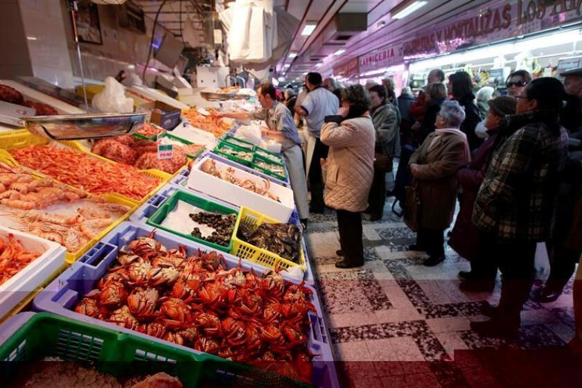 En la imagen, el madrileño mercado de Chamberí. EFE/Archivo