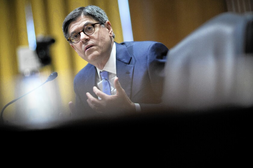 Treasury Secretary Lew Testifies on 2015 Budget To The Senate Finance Committee