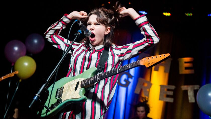 Lydia Night of the Regrettes in June of last year at a show in Atlanta.