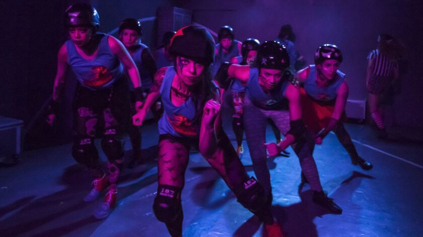 "Theatre of Note's original production of ""For the Love Of (Or, the roller derby play)"" played a year ago. Now it's being remounted at the Kirk Douglas Theatre in Culver City as part of Center Theatre Group's Block Party."