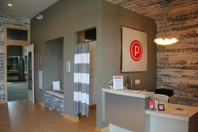 The new Pure Barre location at the Village at Pacific Highlands Ranch. Courtesy photo