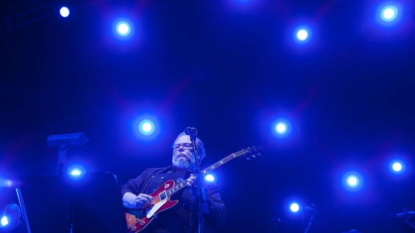 Walter Becker performs at the Coachella Valley Music and Arts Festival in 2015.