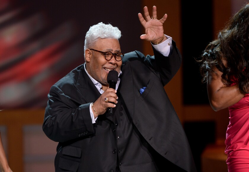 Rance Allen performs at the BET Celebration of Gospel at the Orpheum Theatre in Los Angeles, 2014.
