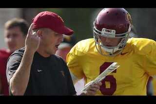 Bill Plaschke's wakeup call: Big college football weekend in Los Angeles