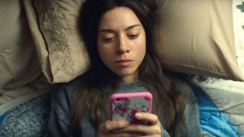 """Aubrey Plaza as Ingrid Thorburn in """"Ingrid Goes West."""""""