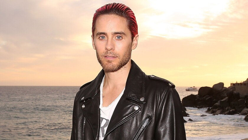 Jared Leto attends the Los Cabos International Film Festival opening-night gala in Cabo San Lucas, Mexico, on Nov. 11.