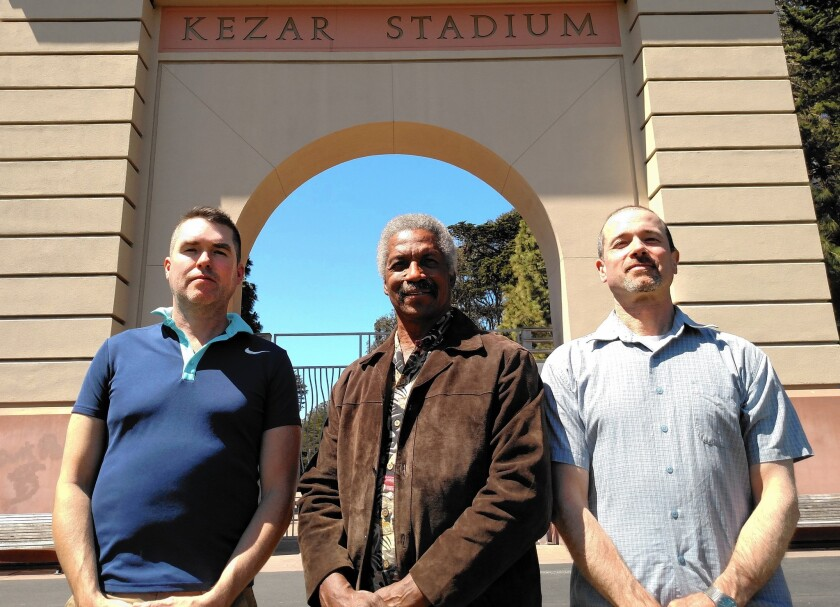 """Alexander Gerould, Kermit Alexander and Jeffrey Snipes teamed up to write """"The Valley of the Shadow of Death,"""" about the murders of football star Alexander's family members."""