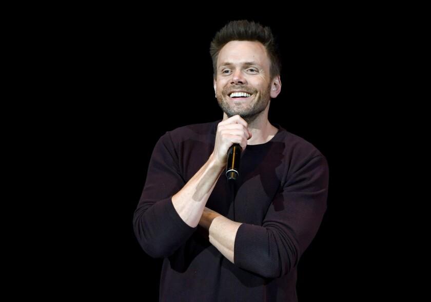 Joel McHale Performs At The Treasure Island In Las Vegas