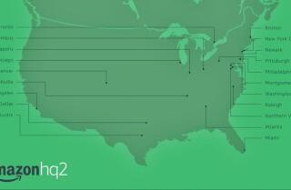 Amazon revela 20 finalistas para su segunda sede