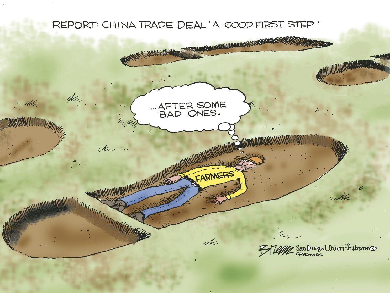 U.S. and China sign 'Phase One' of trade agreement
