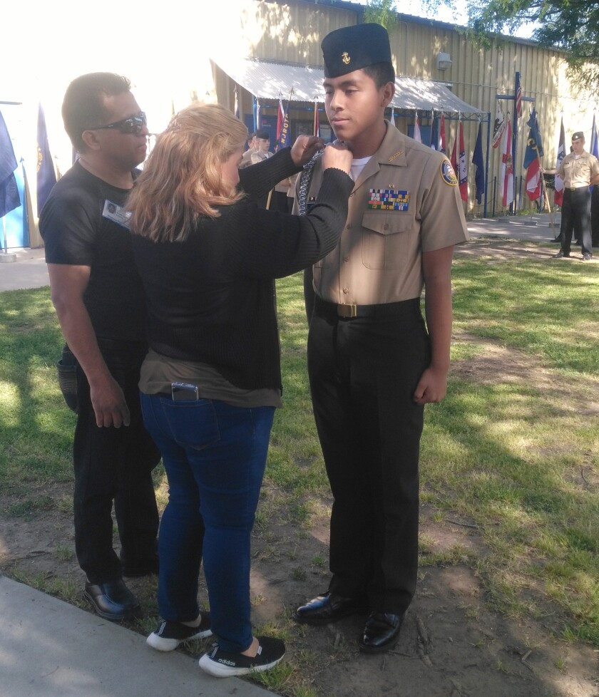 Copy - New Commanding Officer with Family.jpg