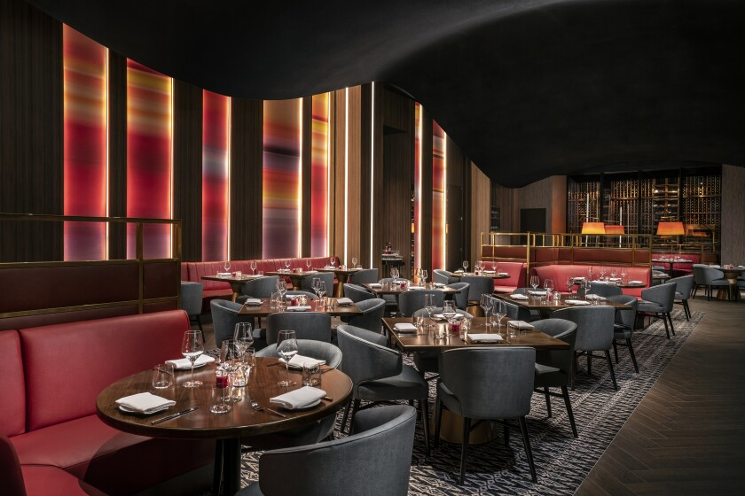 The sleek Ambra Italian Kitchen + Bar is now open at the MGM Grand, serving steaks, seafood and pasta. A speakeasy within Ambra is called Privata.