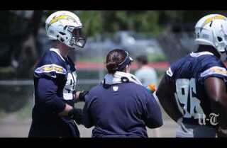 Joey Bosa first practice