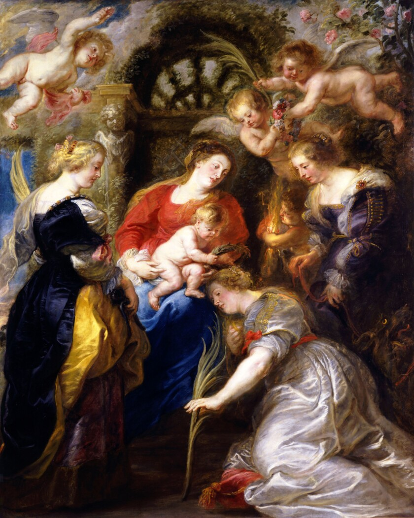 """""""The Mystic Marriage of St. Catherine"""""""