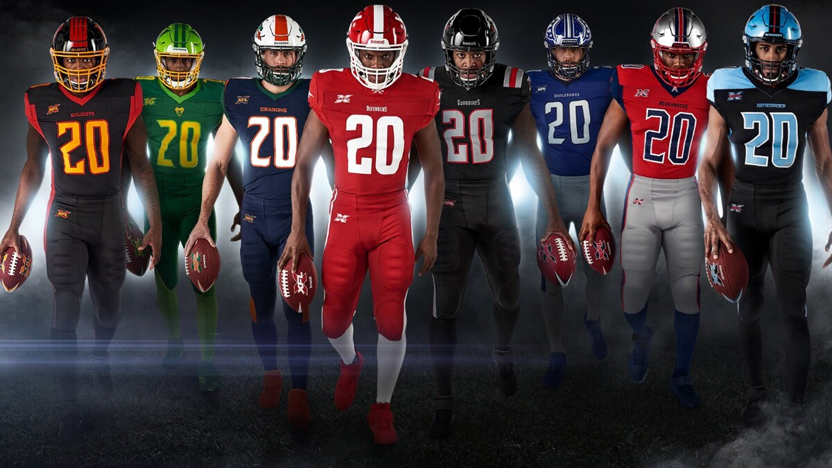 Xfl Uniforms Ranked Who Will Be The Best Dressed Team Los Angeles Times