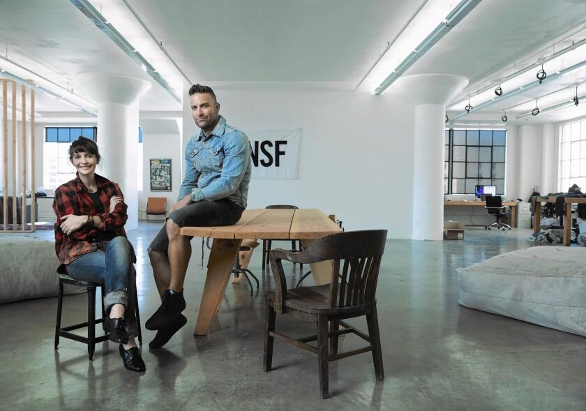 NSF's Jamie Haller and Nick Friedberg