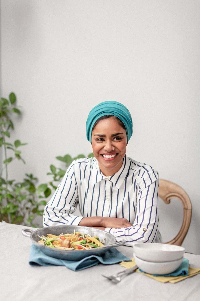 "Nadiya Hussain, from her new cookbook ""Time to Eat."" Her new series, ""Nadiya's Time to Eat,"" is now streaming on Netflix."