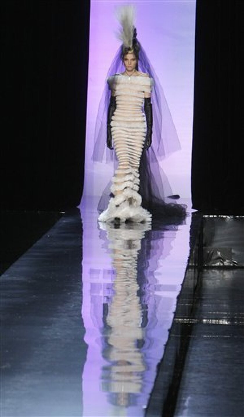 From Cones To Couture 35 Years Of Gaultier The San Diego Union Tribune