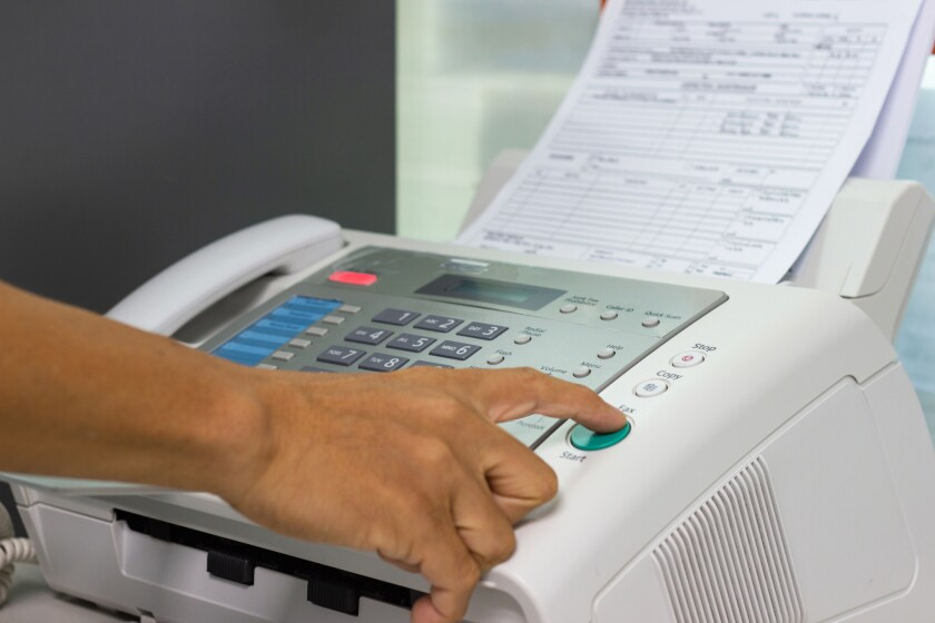 Jail brass testified Monday that there's no plan to replace the multiple fax machines despite acknowledging the machines are outdated.