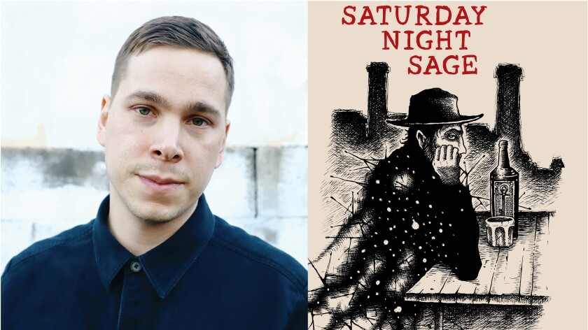 """Blind Owl Records is releasing copies of """"Saturday Night Sage,"""" a book of Beat-influenced poetry by North Park writer Noah C. Lekas."""