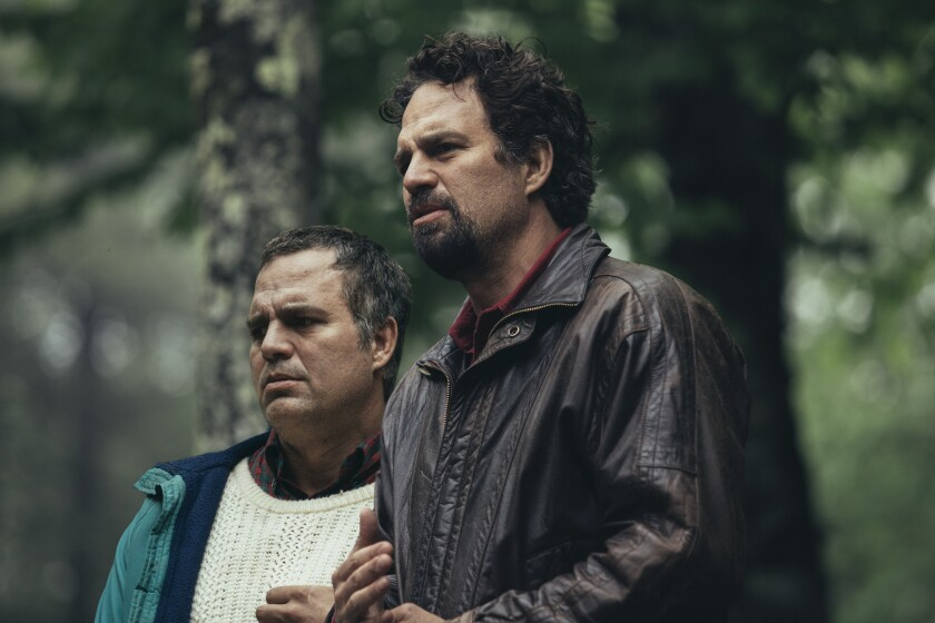 "Mark Ruffalo as twin brothers Thomas and Dominick Birdsey in HBO's ""I Know This Much Is True."""