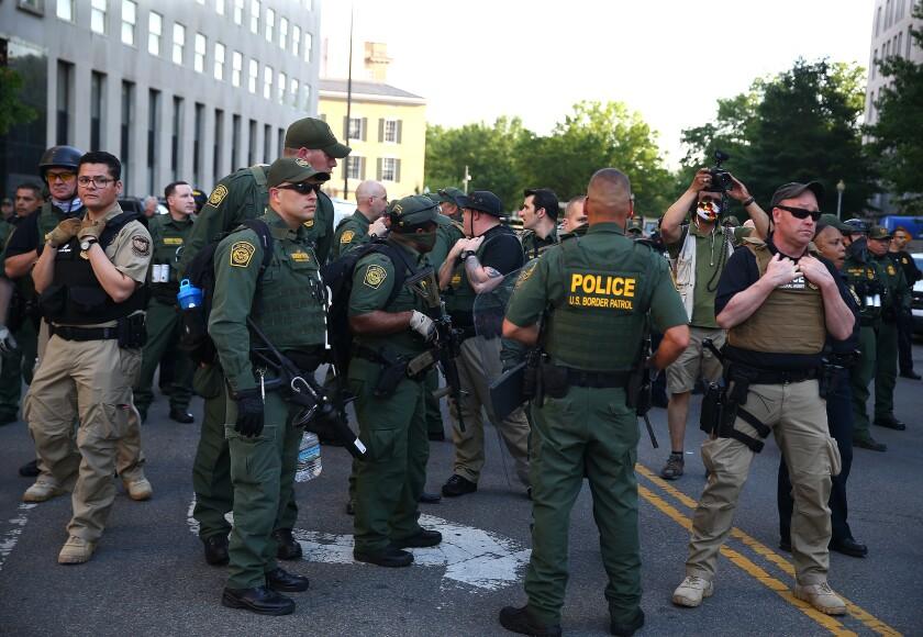 Border Patrol en la calle como entidad policiaca