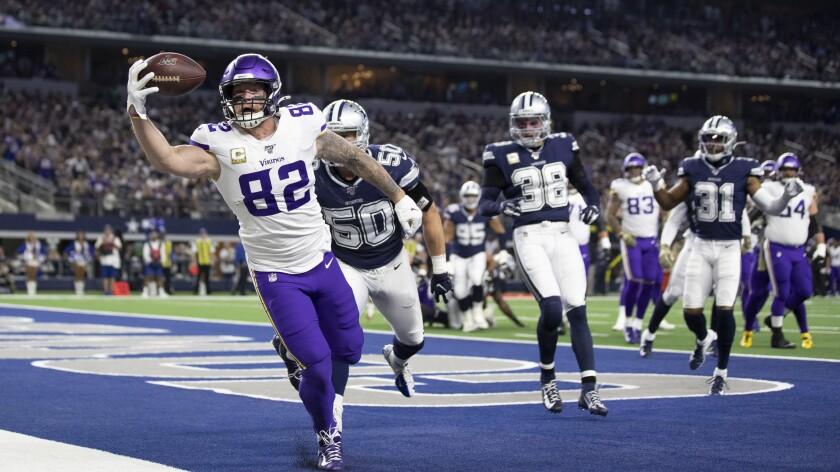 APTOPIX Vikings Cowboys Football